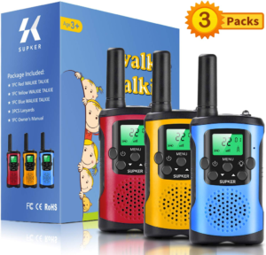 this is an image of supker walkie talkies