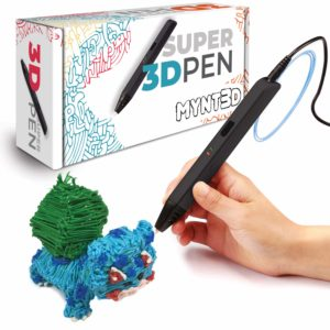 This is an image of girl's 3D pen set in black color