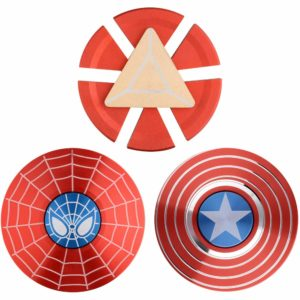 Maybo 3-Pack Marvel Spinners