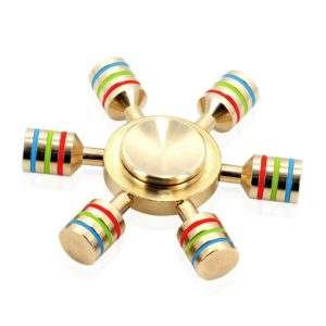 Tenergy Brass-Made Rainbow-Inspired Fidget
