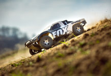 this is an image of a traxxas rc car