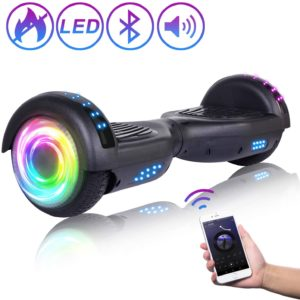 This is an image of a self balancing hoverboard for teenage boys.