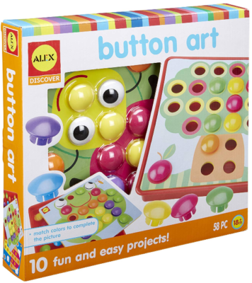 This is an image of kid's art activity set by Alex